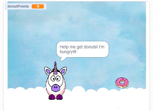 Unicorn game by Nicole R.