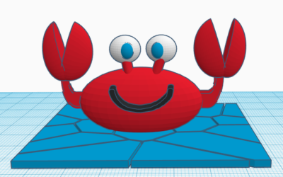Crab time by Tiffany B.