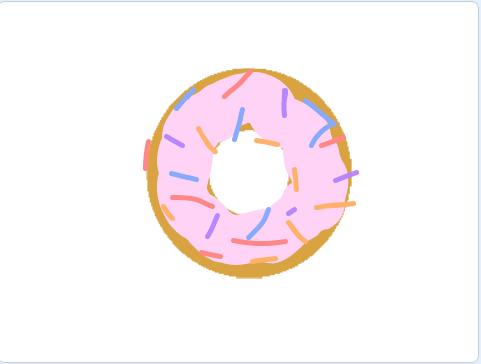 Donut dress up by Tiffany B.